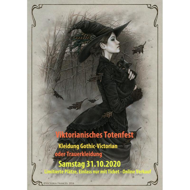 Bluemoon-Viktorianisches Totenfest am 31. Oktober 2020
