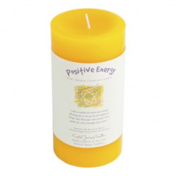 Positive Energie grosse Stumpenkerze