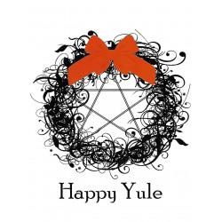 Grusskarte Happy Yule
