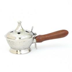 Räucherpfanne  Silber / Nickel