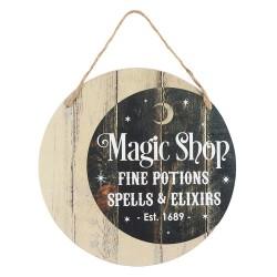 Schild Magic Shop