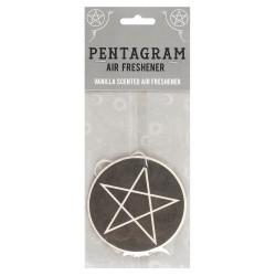 Lufterfrischer Baum Pentagramm