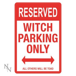 Parkschild Witches only
