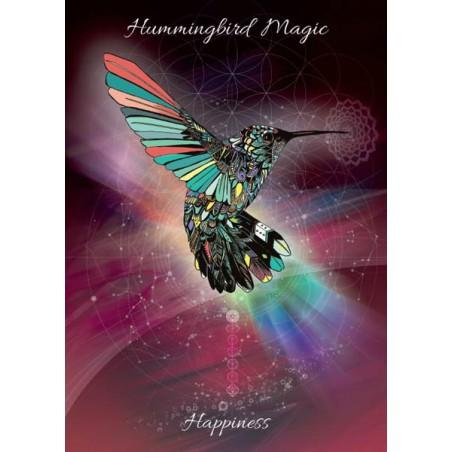 Grusskarte Kolibri Magie