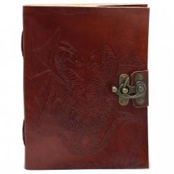 Drachen Schattenbuch Leder