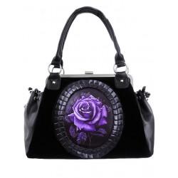 Purple Rose Handtasche