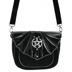 Handtasche Feldermaus Pentagramm